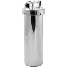 """Корпус для горячей воды USTM 10""""(нержавеющая сталь)"""